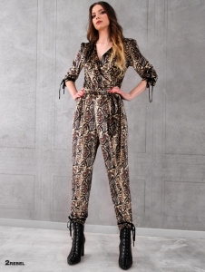 2REBEL ASHLEY velvet overall