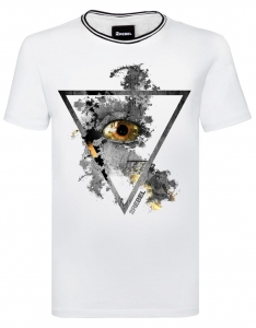2REBEL triangle eye T-shirt (men)