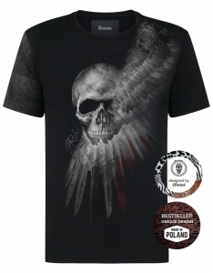 2REBEL smoke skull T-shirt (men)