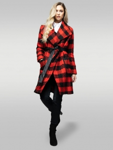 2REBEL ANGEL wool coat