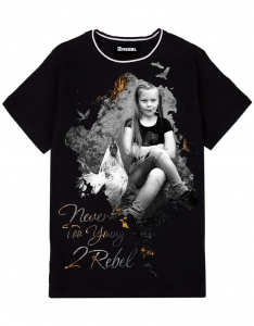 2REBEL girl T-shirt (kids)