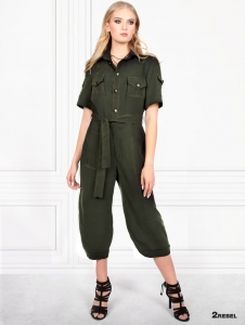 2REBEL ASHLEY lyocell overall