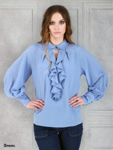 Silk blouse NELLY